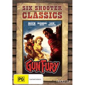 Gun-Fury-Six-Shooter-Classics-DVD-NEW-Region-4-Australia