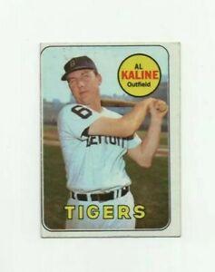 1969 Topps Al Kaline #410 Baseball Card - Detroit Tigers HOF