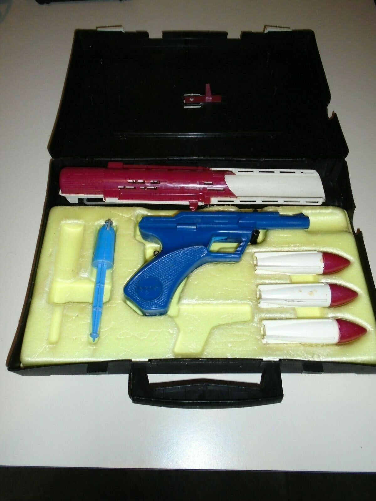 RARE massa JAMES BOND SECRET AGENT 007 MULTIPLE speelgoedMAKERS MORTAIRE AANHANGSZAAK
