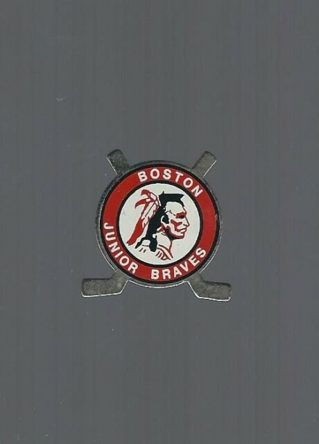 1980's Boston Braves, Minor Hockey pin