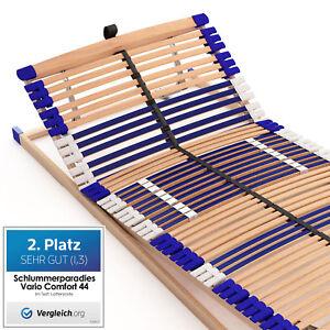 Lattenrost-Lattenrahmen-Kopf-Fuss-verstellbar-44-Leisten-7-Zonen-NEUWARE