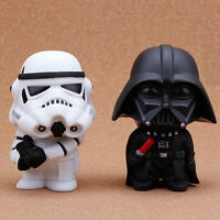 2pcs 4 Star Wars Darth Vader&stormtrooper Pvc Figure Mini Toys Doll Collectible