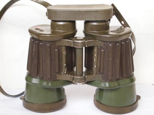 TOP!!!!!! Hensoldt / Zeiss Dienstglas binoculars 10X50 german army, hunters +bag
