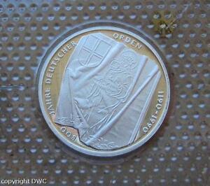 Frank Coin Münze 10 Dm Brd 800 Jahre Deutscher Orden 1990 J J 451 Silber Nr Brd Mark-währung 9307 Online Rabatt Münzen
