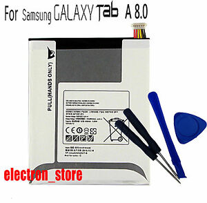 For Samsung Galaxy TAB A 8.0 SM-T350 T355C GALAXY Tab 5 P350 EB-BT355ABE Battery