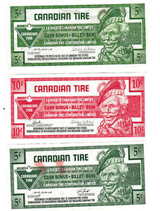 Collectible Canadian Tire Money 💰💲 #14 5 10 cents