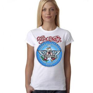 267be216 Wayne's World Garth Algar Aerosmith T-shirt Halloween Costume Lady ...