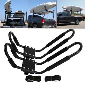 Exterior Reasonable J Rack Kayak Carrier Canoe Boat Roof Top Mount Car Suv Van W/free Cell Phone Bag