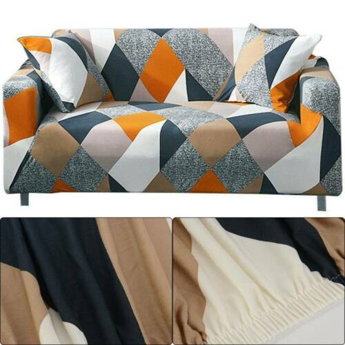2//3 Seater Elastic Sofa Covers Slipcover Settee Stretch Floral Couch Protector
