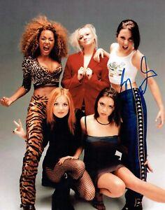 Mel C Melanie Chisholm Signed Autograph Photo 2 Aftal Coa Sporty Spice Girls Ebay