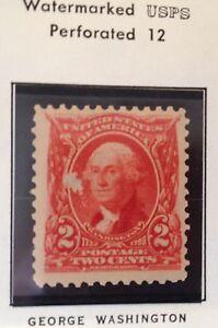 Un Used Unhinged 1902 George Washington 301 Stamp 2 Cent Ebay