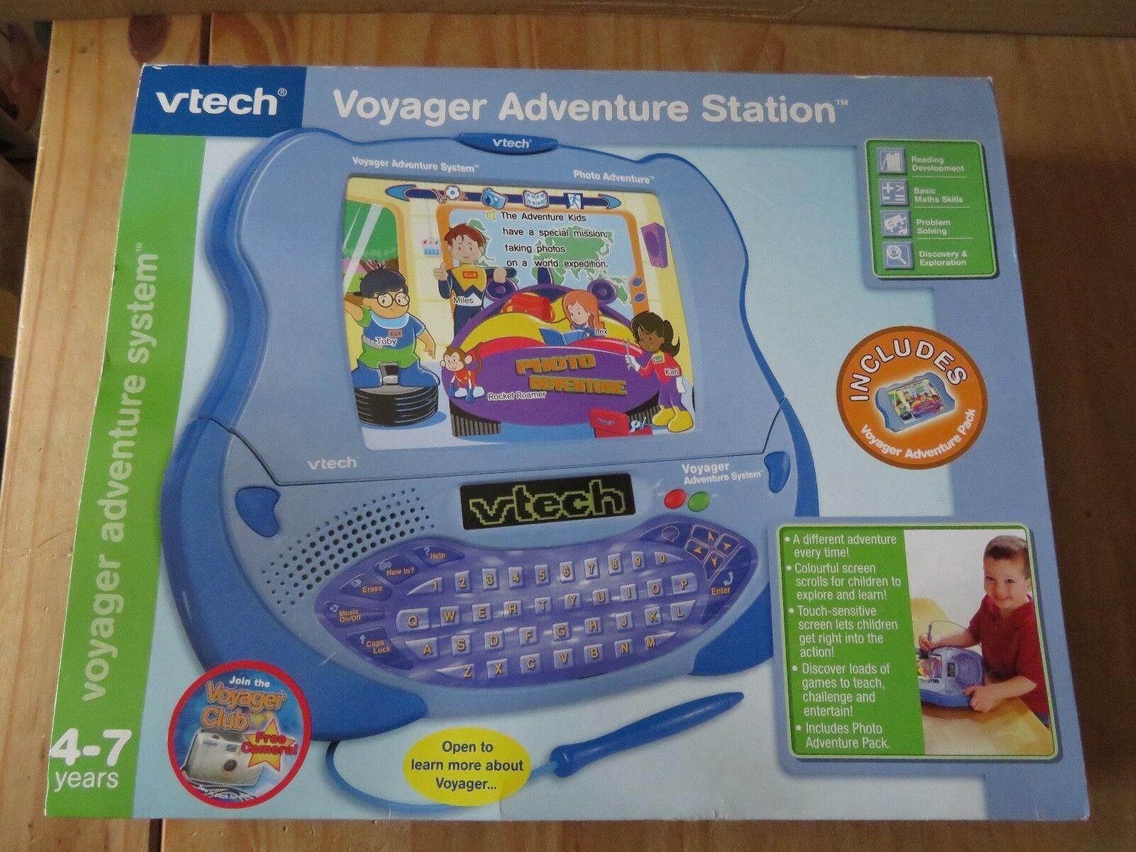 Vtech Voyager Adventure Station RARE c494