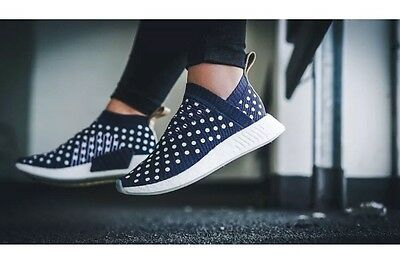 53a8ecf82218c Adidas NMD CS2 PK RONIN PACK Women s 8 Men s 6.5 POLKA DOT COLLEGIATE NAVY