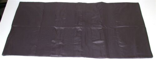 1 Simply Vera Wang Pillow Sham w// Stitching ~ King ~ Charcoal Gray ~ 20 x 36