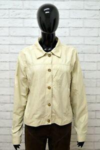 Giacca-Donna-INVICTA-Taglia-Size-L-Cappotto-Trench-Jacket-Woman-Italy-Cotone