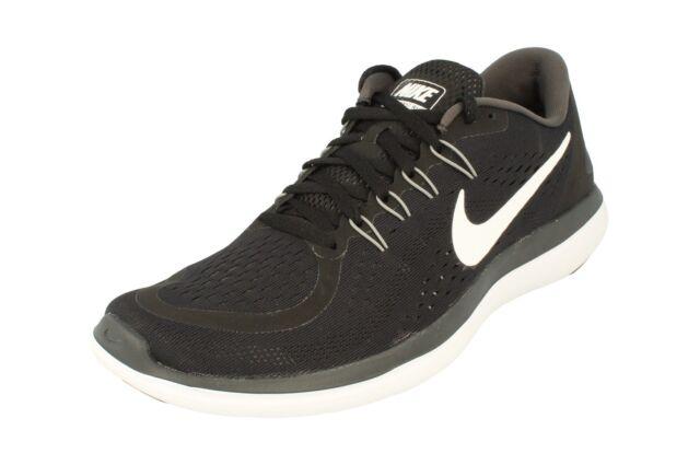 27aa1f14751 Nike Flex 2017 Run Men Running Shoes Men s SNEAKERS Black White ...