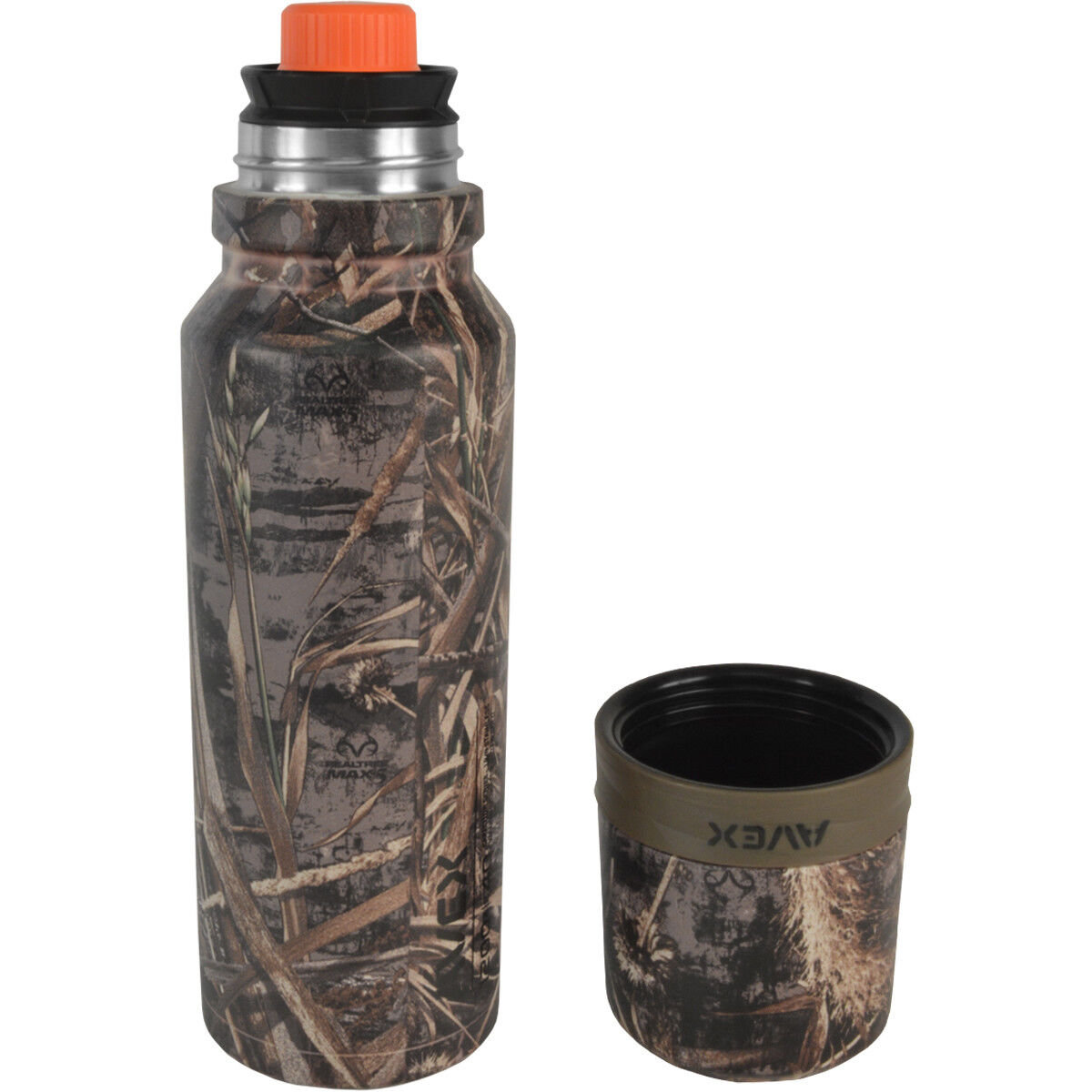 Avex 40 oz. 3Sixty Pour Vacuum Insulated Thermal Bottle - Realtree Camo