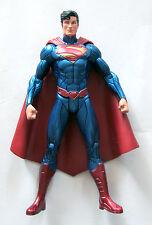 DC Direct New 52 Custom Superman Metallic Paint SDCC Official Show Face