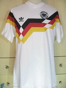 uk availability a817f 92b67 Details about WEST GERMANY WORLD CUP 1990 ADIDAS HOME VINTAGE FOOTBALL  TRIKOT SOCCER SHIRT M