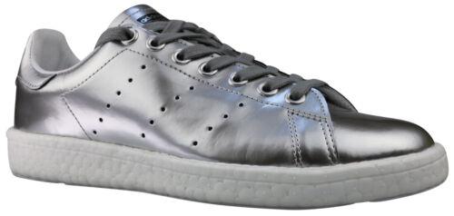 Adidas Stan Smith Boost W Damen Sneaker Schuhe BB0108 silber Gr. 37 - 42 NEU