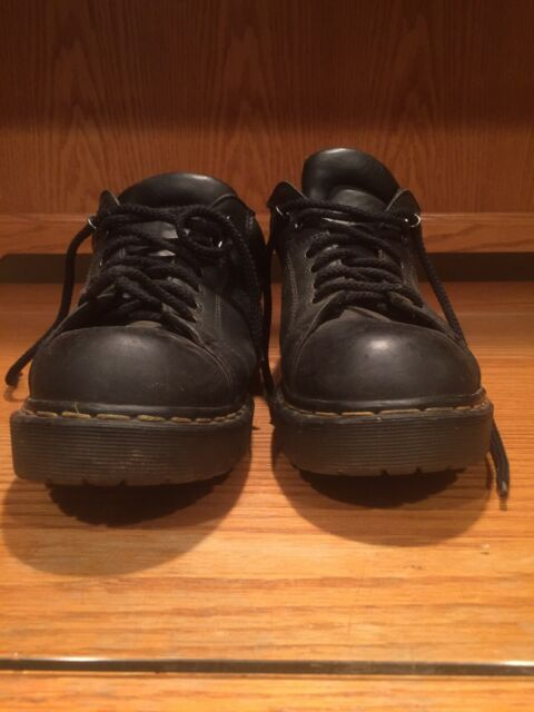 Dr. Martens Brown Leather Shoes Made in