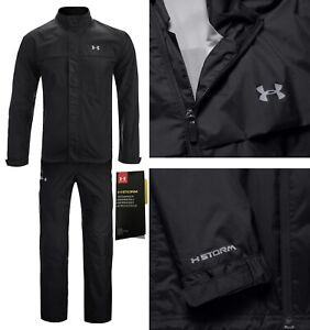 Under-Armour-UA-Storm-Waterproof-Golf-Suit-Jacket-amp-Trousers-RRP-170