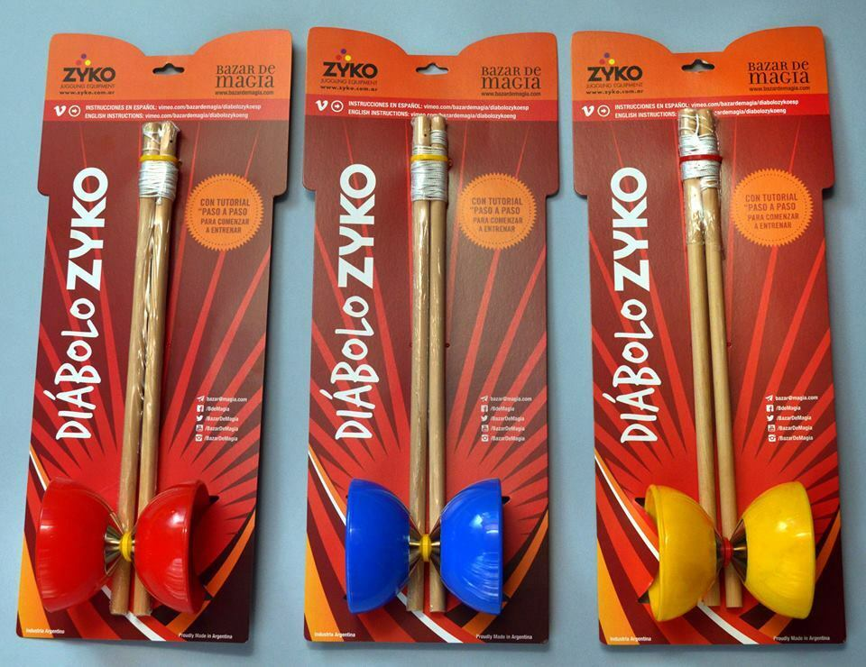 LOT of 16 Pieces  Profesional  Zyko Diabolo High Quality made in silverina