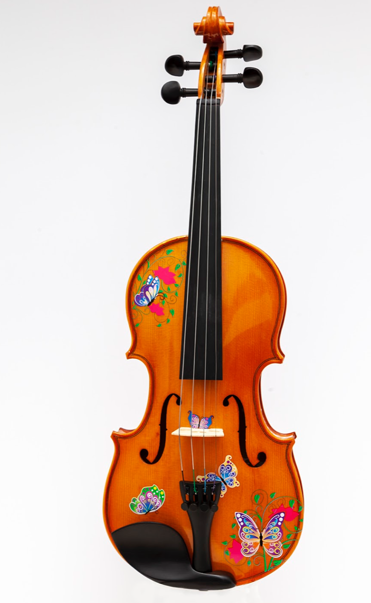 Rozanna's Butterfly Dream 3 4 Violin Outfit, w Crystaline Detail