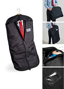 Black-Suit-Carrier-Garment-Protector-Travel-Storage-Bag-Holder-Carry-Cover-QD31