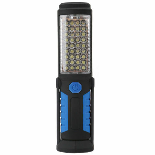 USB Rechargeable LED COB Inspection Work Light Hand Lamp Cordless Flexible Torch