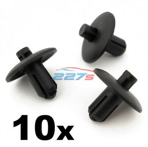 10x-Trim-amp-Body-Panel-Clips-Fit-some-Audi-wheel-arch-grille-cabin-4D0807300