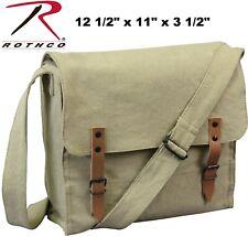 Canvas Medic Bag Classic Vintage Military Style Khaki Rothco 9122