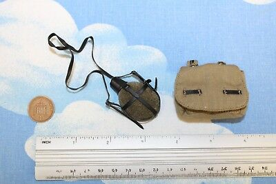 DID DRAGON IN DREAMS 1:6TH SCALE WW2 GERMAN MEDIC WATER BOTTLE /& BAG FROM PETER
