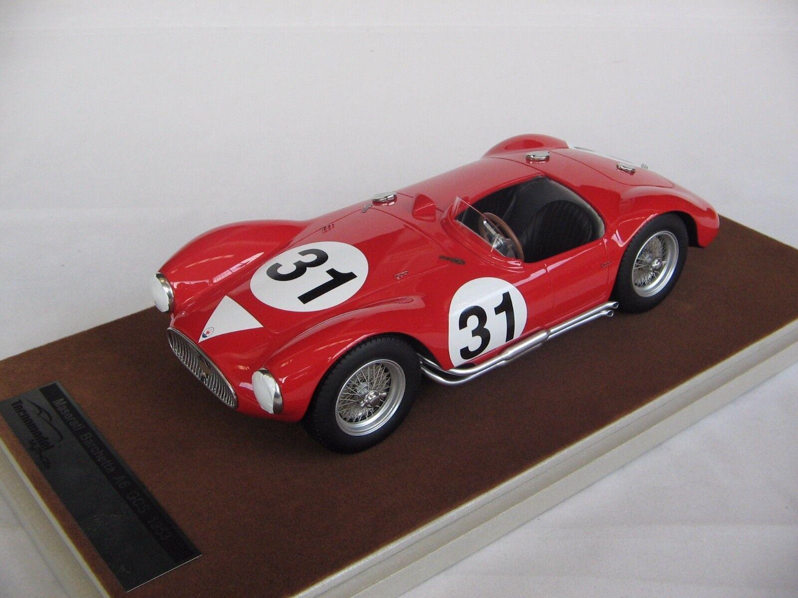1 18 scale Tecnomodel Maserati A6 GCS Le Mans 24h 1955 car  31 - TM18-44D