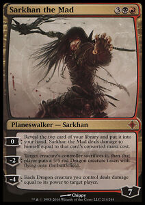 SARKHAN IL DRACOFONO SARKHAN THE DRAGONSPEAKER Magic KTK Mint