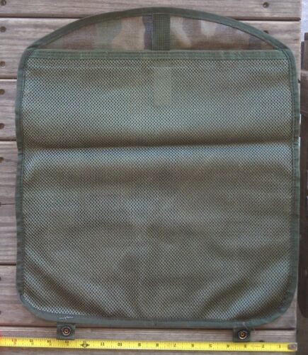 25 ea MOLLE II Pouch Lid Flap Large Ruck FIELD Pack USGI Woodland CAMO MAP