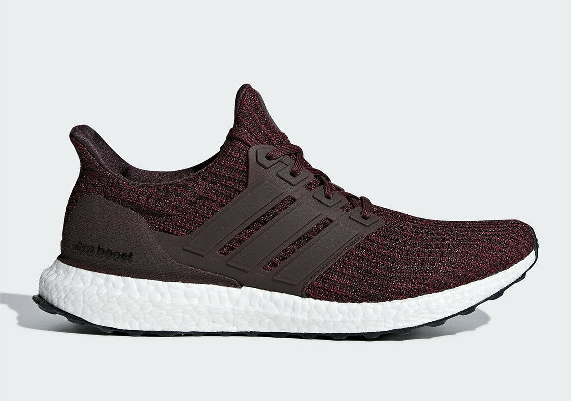 Men's Adidas Ultra Boost 4.0 Night Red  Noble Maroon- CM8115