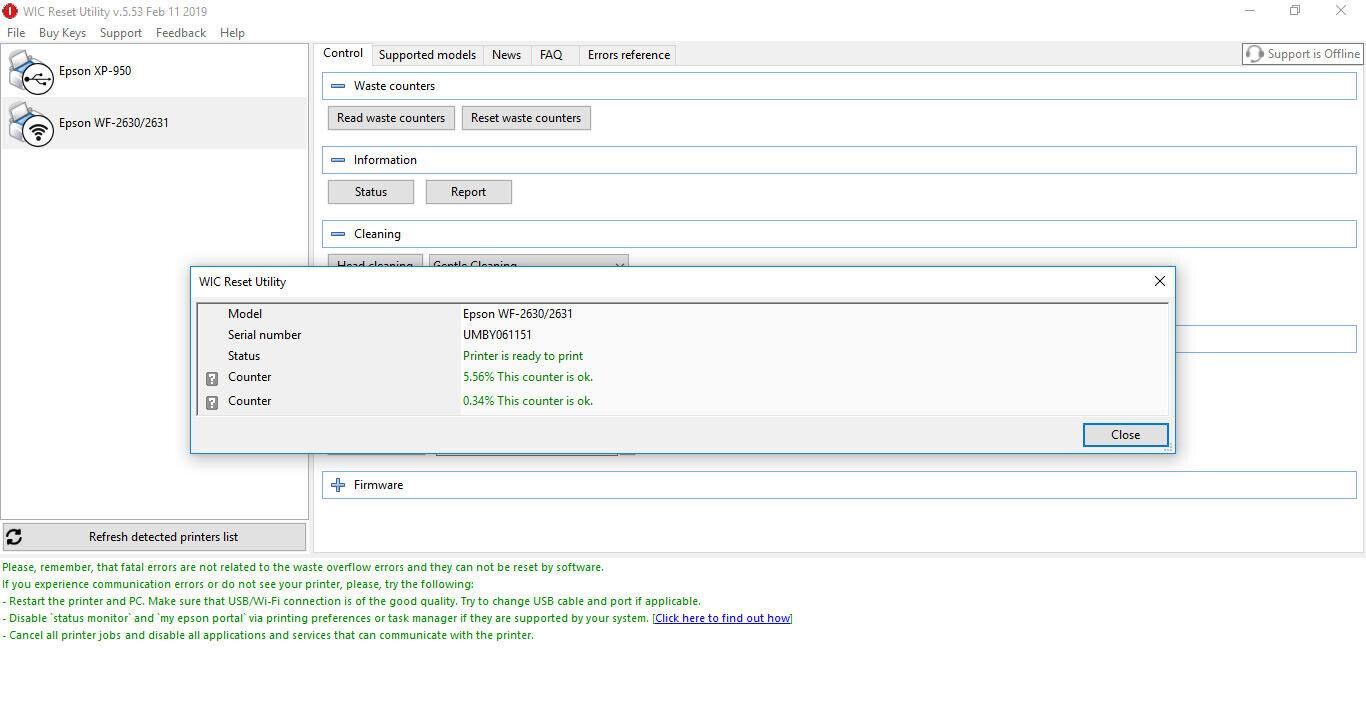 Epson Wf 2630 Firmware Downgrade