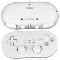 White/Black Classic  Game Controller Gamepad Joypad for Nintendo Wii