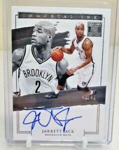 JARRETT JACK 2020-21 Impeccable Basketball AUTO 41/49 ON CARD 20-21 AUTOGRAPH