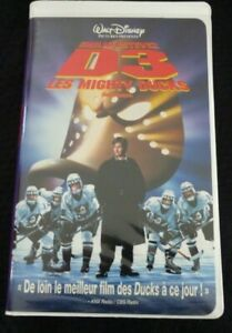 VHS-French-Movie-D3-Les-Mighty-Ducks-Walt-Disney-Pictures