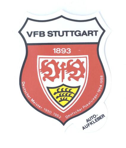 VfB Stuttgart Aufkleber Logo Bundesliga Fussball #323