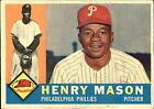 1960 Topps #331 Henry Mason Phillies VG