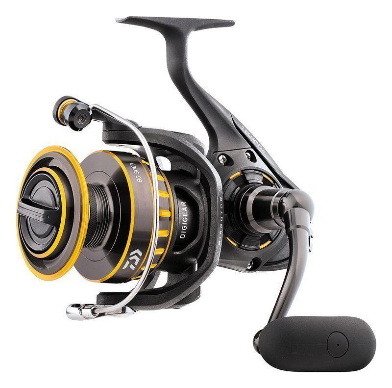 Daiwa bg spinning spinning spinning pescar roles-todos tamaños negro oro Feeder grob spinning 906225