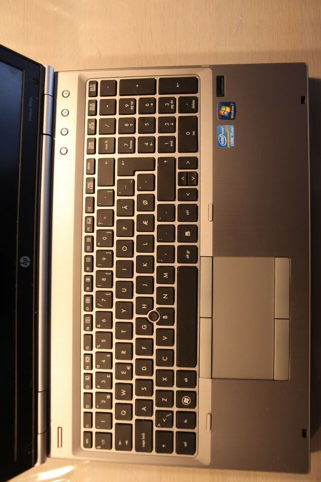 HP HP Elitebook 8560P, 2,4 GHz, 4 GB ram
