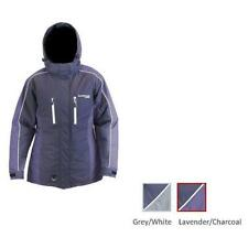 12776 NWT Ice Armor by Clam Womens Glacier Float Bibs Large //Grey//White