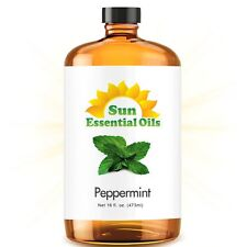 Best Peppermint Oil (MEGA 16oz) 100% Pure Peppermint Essential Oil FREE SHIPPING