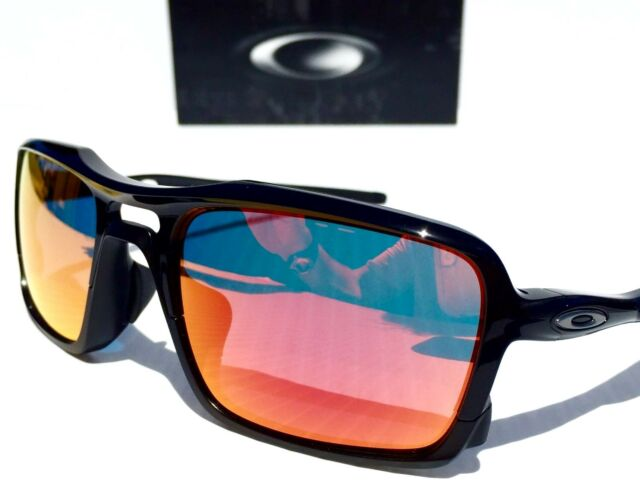 53ec673443 Oakley Triggerman Sunglasses Polished Black   Prizm Deep H2o Polarized