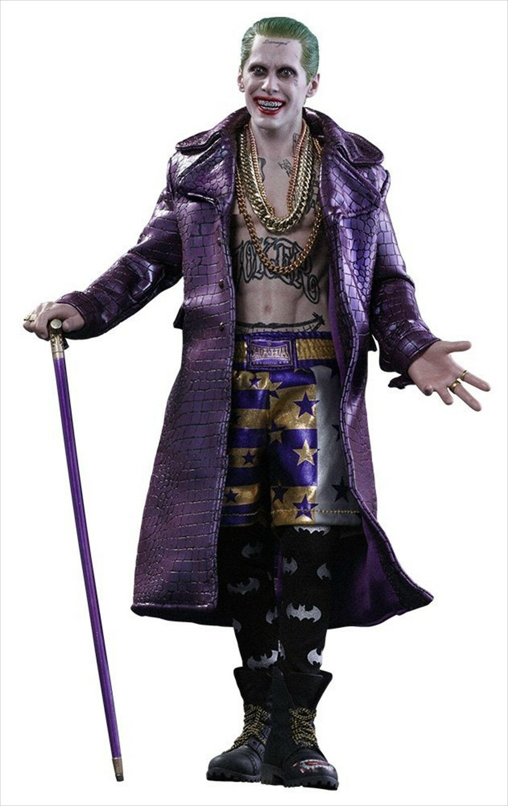 Movie Masterpiece Suicide Squad Joker viola  coat version 1 6 scale cifra nuovo  80% di sconto