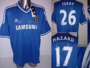 super popular 9e47e 63a7d Details about Chelsea Adidas BNWT XL XXL Terry Hazard Oscar Cahill Top  Soccer Shirt Jersey New